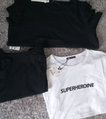 3 majice Zara XL