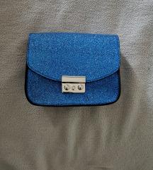 Nova plava like furla torba