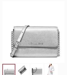 Michael Kors silver bag REZZ.