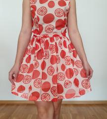 Vintage proljetna haljina