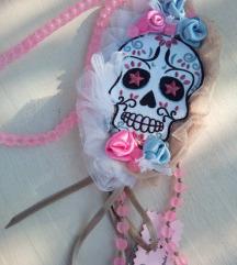 Dugačka Frieda Kahlo ogrlica