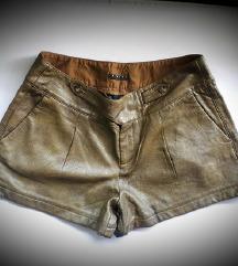 % Sisley 'kožne' hlačice M/L