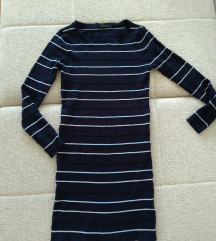 Pletena mini haljina / tunika