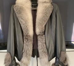 Kozna jakna s pravim krznom