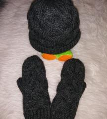 Novo H&M retro kapa i rukavice