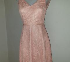 NOVA roza haljina xx