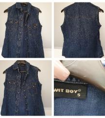 Prsluk jeans