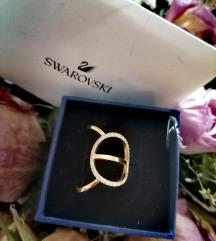 Swarovski prsten br 52 /garancija