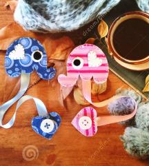 unikatni bookmarker - rozi ili plavi slonić
