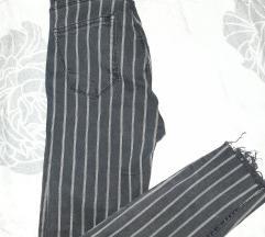 Nove bershka high waist traperice