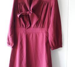 H&M haljinica boje trule visnje