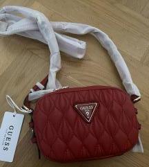 Crvena Guess torbica NOVO!!