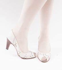 Bijele vintage sandale