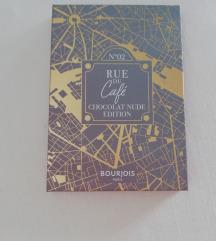 Sjenilo Bourjois rue du cafe chocolate nude paleta
