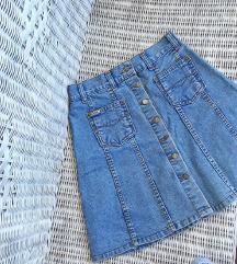 GASS jeans traper suknja - a kroj