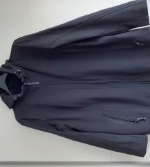 REZZ - Crna topla jakna s kapuljačom