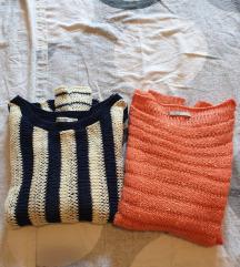 Pulover mornarski i boje breskve