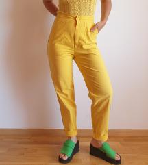 Vintage žute hlače