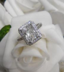 Novo prsten Like Cartier 18 kgp, pozlata