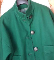 By Almensita smaragdno-zelena jakna&suknja L