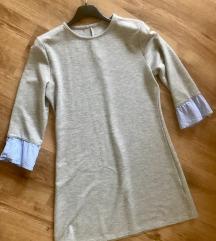 Siva haljina a kroja S/M