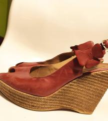 Lasocki crvene kožne sandale