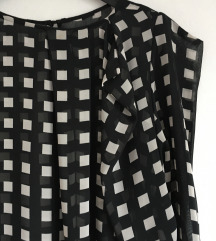 Crno bijela bluza