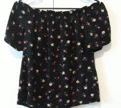 Cvjetna majica bluza