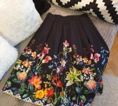 Cvjetna koktel suknja