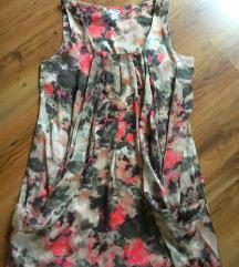 Predivna svilena haljina balon kroja