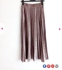 Suknja plisirana Sinsay s etiketom