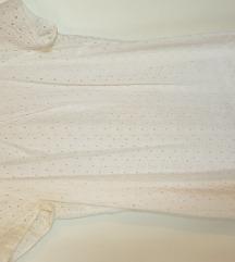 Bijela pamucna haljina S