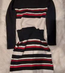 Pletena haljina/tunika sa rolkom..pt u cijeni