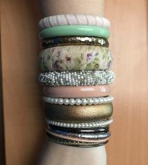 LOT nakita - narukvice, ogrlice, prsten