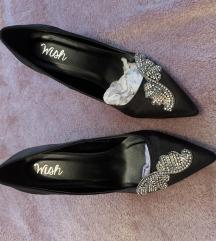 Shoebox cipele s visokom petom