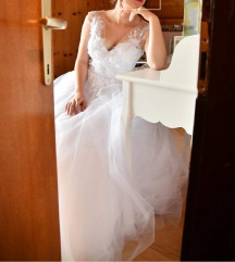 Vjenčanica princeza 3D čipka