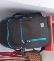 STREET plavo crna školska torba