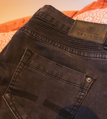 Review biker traperice, skinny, mid-rise
