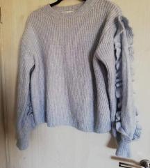 Zarin pulover baby blue