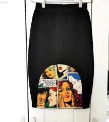 Dizajnerska BMS pencil suknja