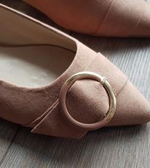 NOVE PARFOIS elegantne balerinke nježne puder boje