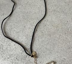 Crno/zlatni lančić