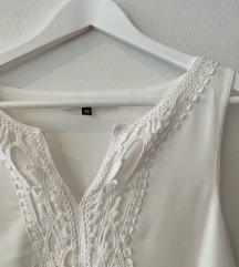 Only bijela haljina s čipkom