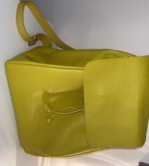 Žuti ruksak Zara