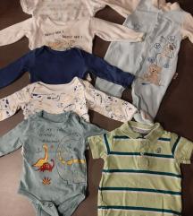 Lot odjece za djecaka vel 68