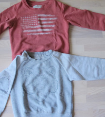 Lot - ZARA sweatshirt majice vel. 2-3 (98)