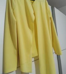 Žuti asimetrični sako