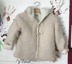 Zara pleteni kaputic 2-3