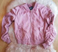 Bomber roza jakna