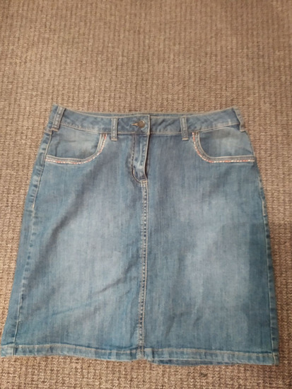 Jeans suknja L 42